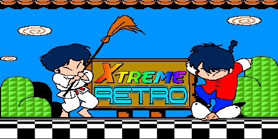 Ranma 1-2 Header Pixel Art Xtreme Retro