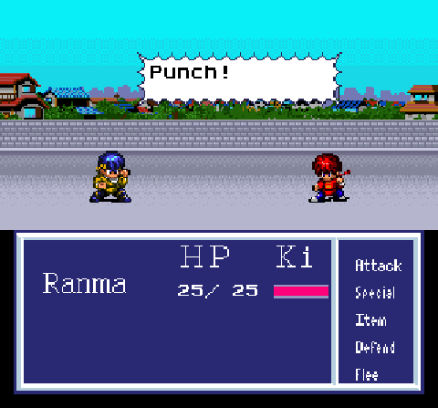 Ranma RPG SNES