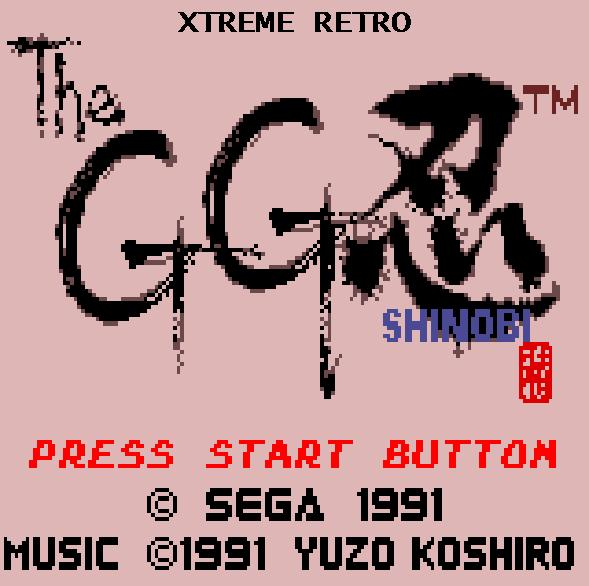 GG Shinobi Intro 5