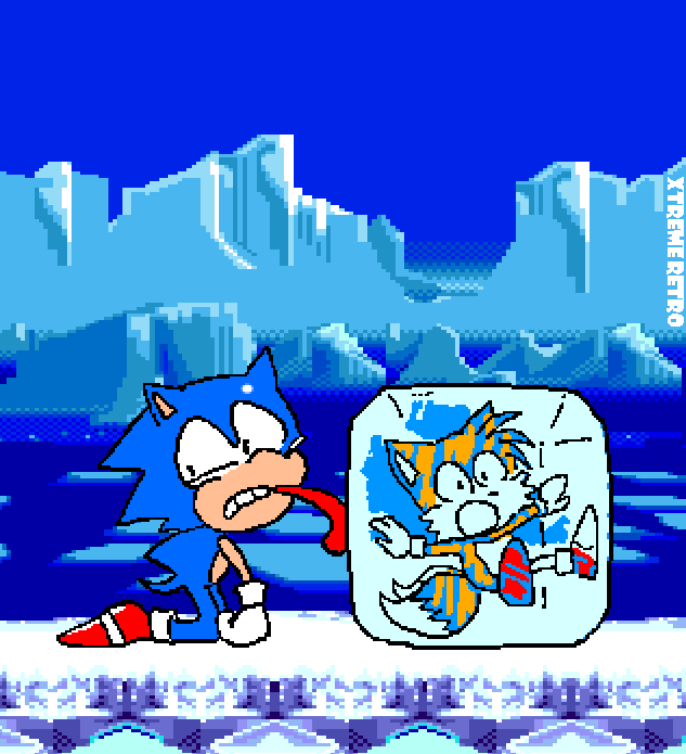 Sonic 3 Miles Tails Prower Pixel Art