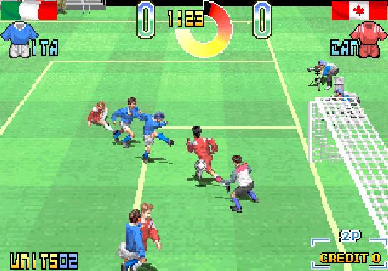 Taito Power Goal Arcade