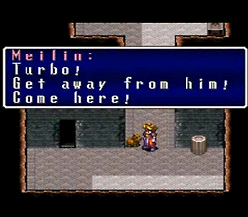 Terranigma Turbo Dog
