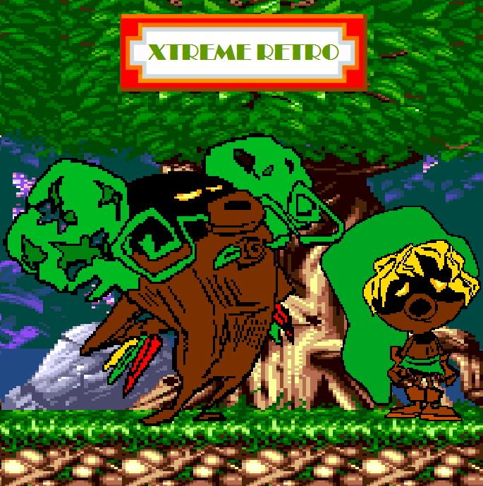 The Legend of Zelda Majoras Mask N64 Deku Link King Pixel Art Xtreme Retro
