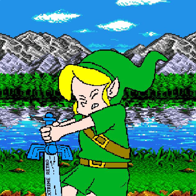 The Legend of Zelda Ocarina of Time Majora's Mask N64 Pixel Art Xtreme Retro