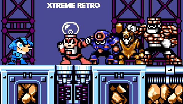 Megaman Game Gear Header Pixel Art Xtreme Retro