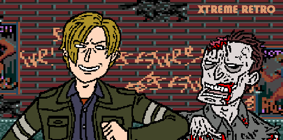 Resident Evil Pixel Art