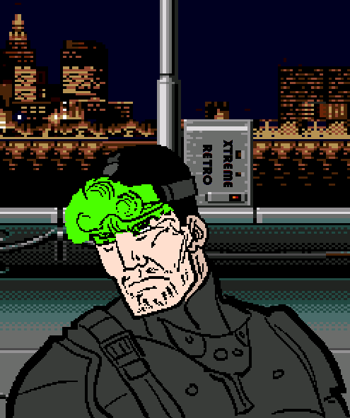 Sam Fisher Splinter Cell Pixel Art