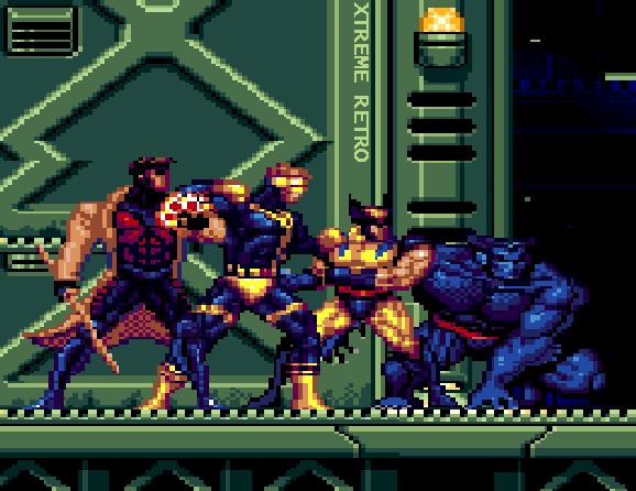 X Men 2 Clone Wars Header Pixel Art Sega Genesis Xtreme Retro