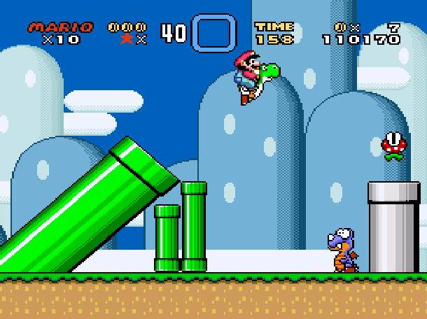 Super Mario World Xtreme Retro SNES Super Nintendo Super Famicom 4