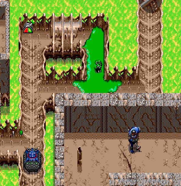 The Ooze Sega Genesis
