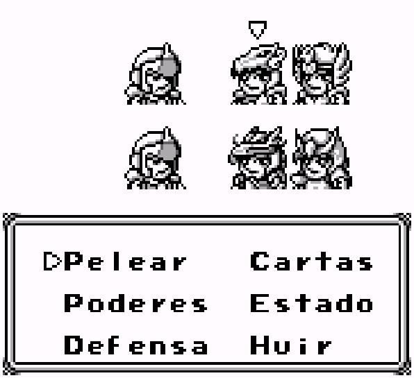 Caballeros del Zodiaco Game Boy