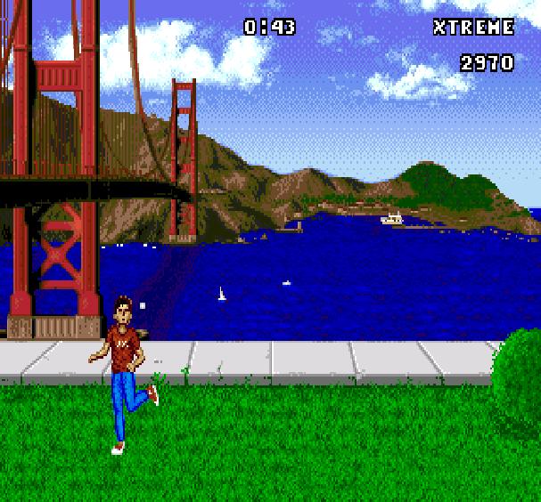 California Games Footbag