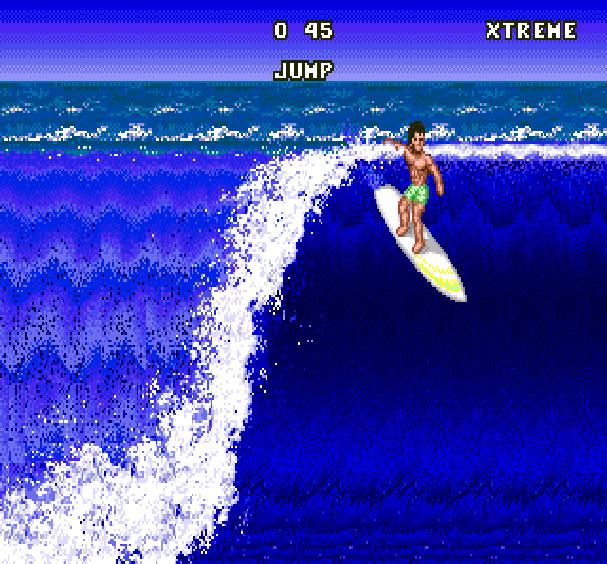 California Games Surfing