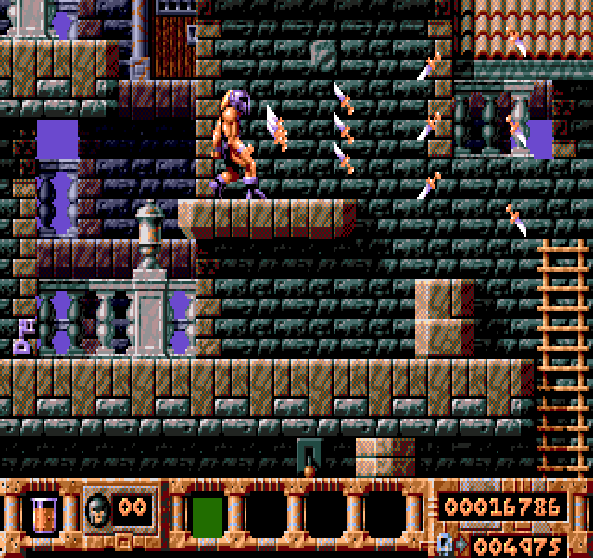 Gods Sega Mega Drive