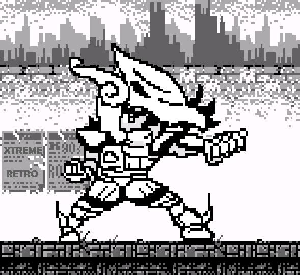 Saint Seiya Pixel Art Xtreme Retro Game Boy