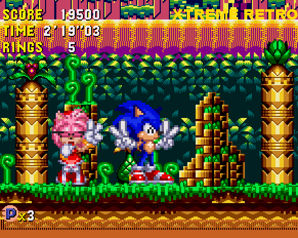 Sonic CD Collision Chaos Past