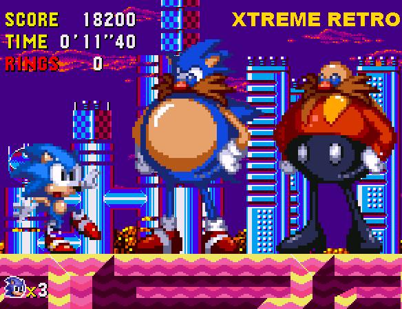 Sonic CD Collision Chaos