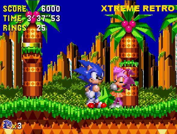 Sonic CD Palmtree Panic