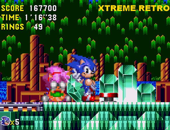Sonic CD Quartz Quadrant Past