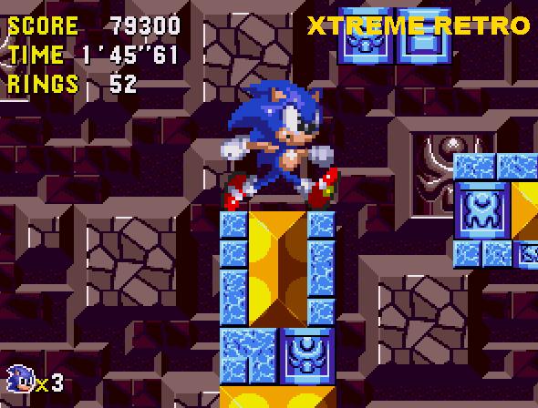 Sonic CD Tidal Tempest