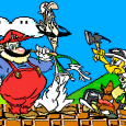 Empezaba con la musiquilla tintineante de Super Mario Bros, al compás de la cual iban saliendo el ex luchador de wrestling Lou Albano y el cómico Danny Wells enfundados en […]