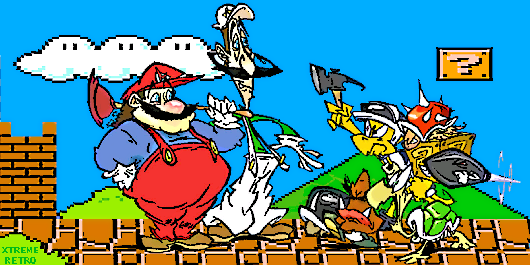 Super Mario Bros Super Show Header