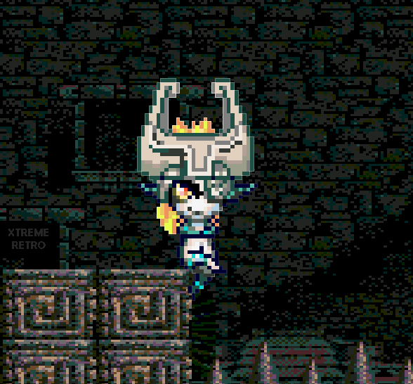 The Legend of Zelda Twilight Princess Dangeon Midna Pixel Art