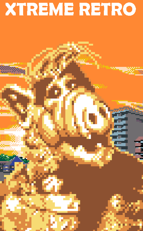 Alf Master System Pixel Art