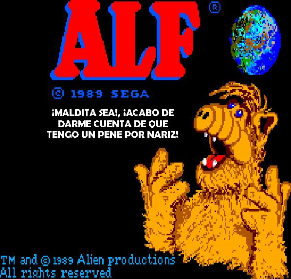 Alf Master System Xtreme Retro