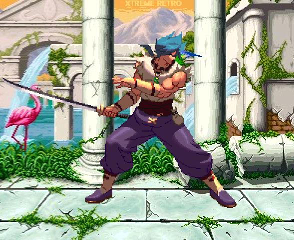 Breath of Fire III Capcom Pixel Art Xtreme Retro PSOne PSP