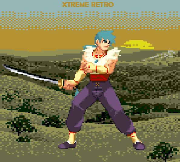 Breath of Fire Ryu Capcom Pixel Art PSOne Xtreme Retro RPG