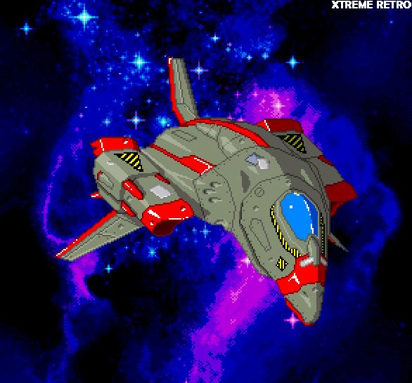 Hyperion LaserDisc Sega Pixel Art Xtreme Retro