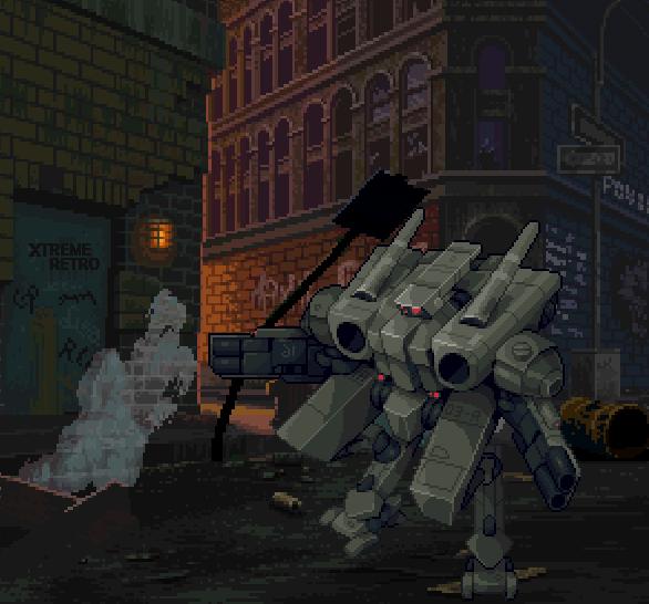 Metal Head Sega 32X Pixel Art Xtreme Retro