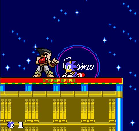 Sonic Pocket Adventure NGPC Pixel Art Kazuya Mishima Sega Xtreme Retro