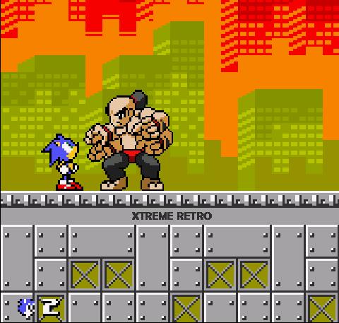 Sonic Pocket Adventure Neo Geo Pocket Color Pixel Art Goro Mortal Kombat Xtreme Retro