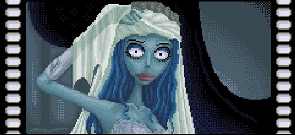 Corpse Bride Tim Burton Pixel Art Xtreme Retro Zombies