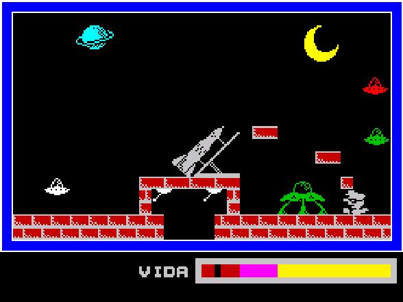 Phantomas 1 ZX Spectrum