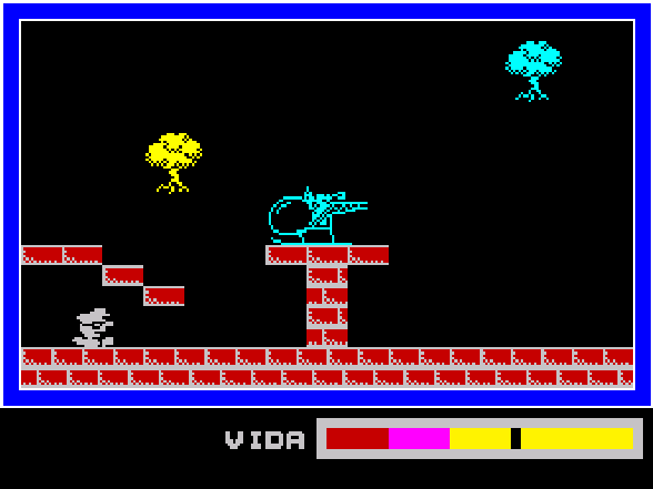 Phantomas ZX Spectrum