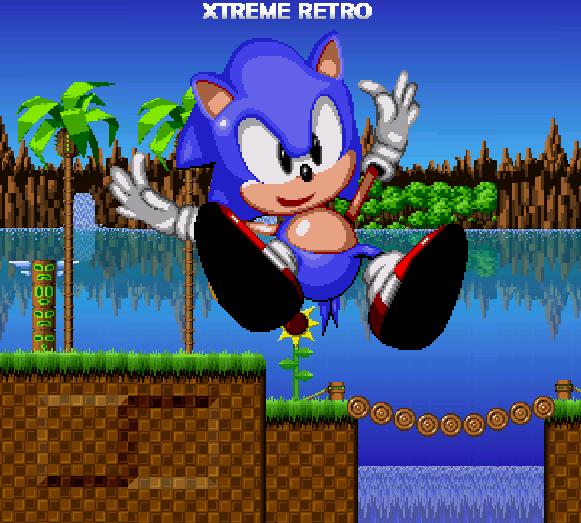 Sonic 1 HD Ending Xtreme Retro Sega Genesis