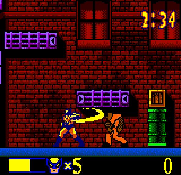 Wolverine Rage Xtreme Retro GBC 2