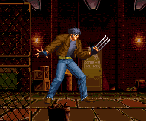 Wolverine Rage Xtreme Retro Game Boy Color