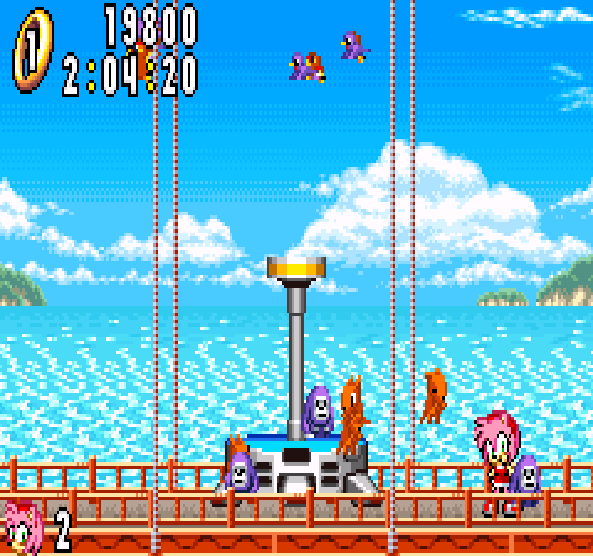 Sonic Advance Amy Rose Xtreme Retro