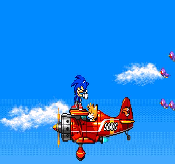 Sonic Advance Tails Tornado Plane Xtreme Retro