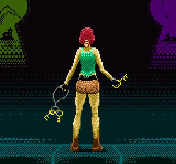 Tomb Raider Adventures of Lara Croft Rhona Mitra Pixel Art Xtreme Retro