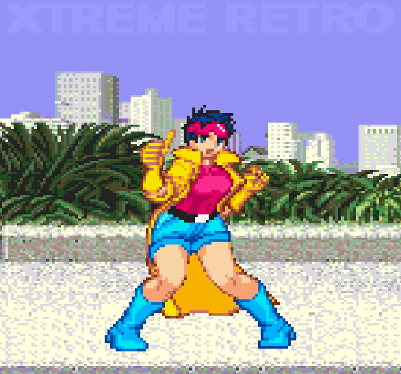 X Women Sega Genesis Pixel Art Xtreme Retro