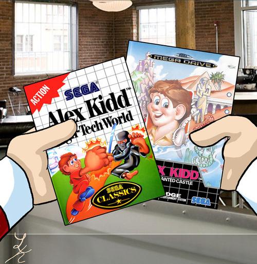 Alex Kidd American Cover