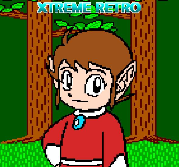 Alex Kidd Master System Pixel Art 8 bits Xtreme Retro
