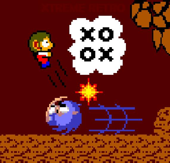 Alex Kidd in Miracle World Master System Pixel Art Xtreme Retro Sega Sonic