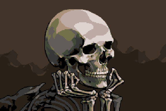 Death Jr Xtreme Retro Pixel Art PSP