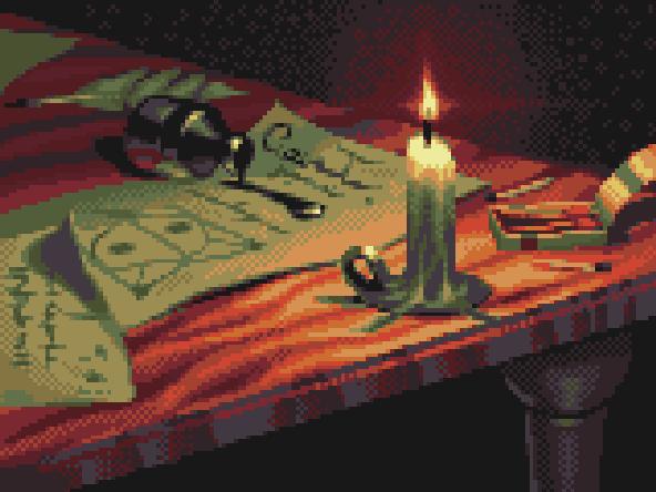Eternal Darkness Pixel Art Xtreme Retro